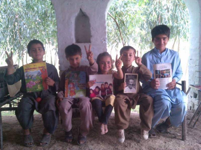 Enlightenment through books: A unique project to educate children and adults of Bannu