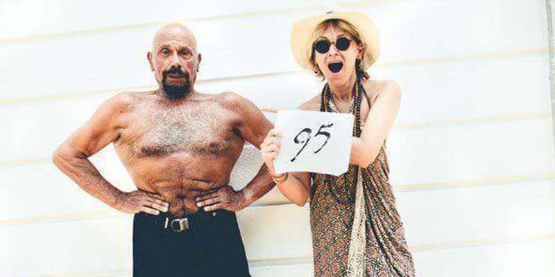Is this Turkish yoga guru really 95 years old?
