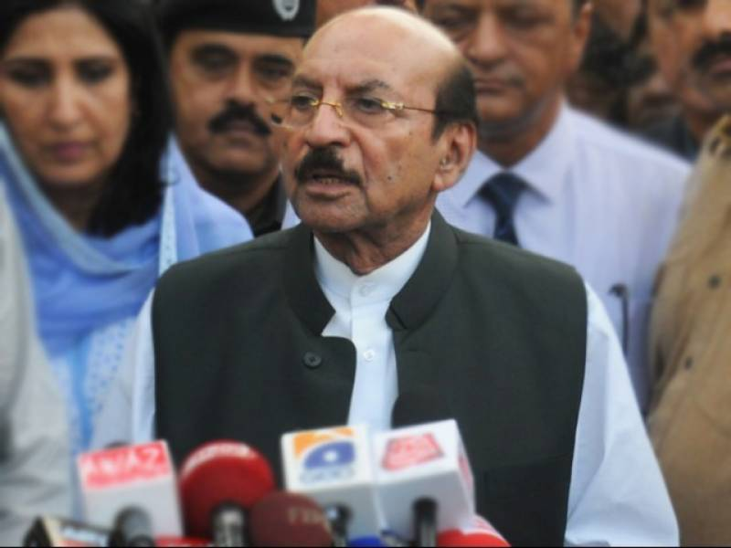 Qaim Ali Shah terms Dr Asim's arrest attack on Sindh