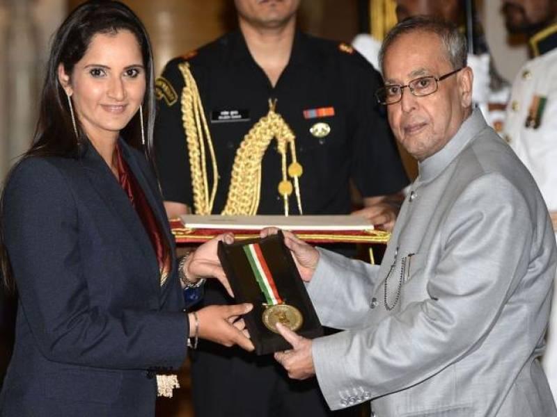 Sania Mirza conferred with Khel Ratna award