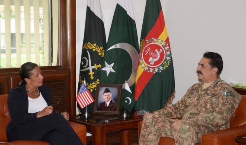 US Adviser calls on Army Chief in Rawalpindi