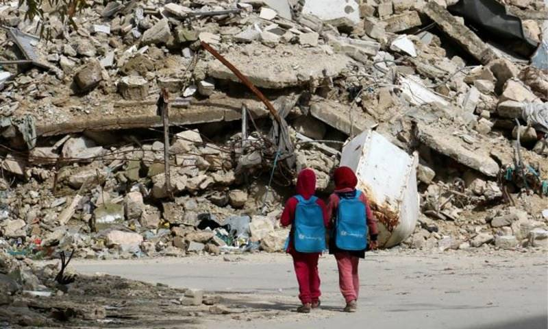 Middle East wars leave 13 million children out of schools