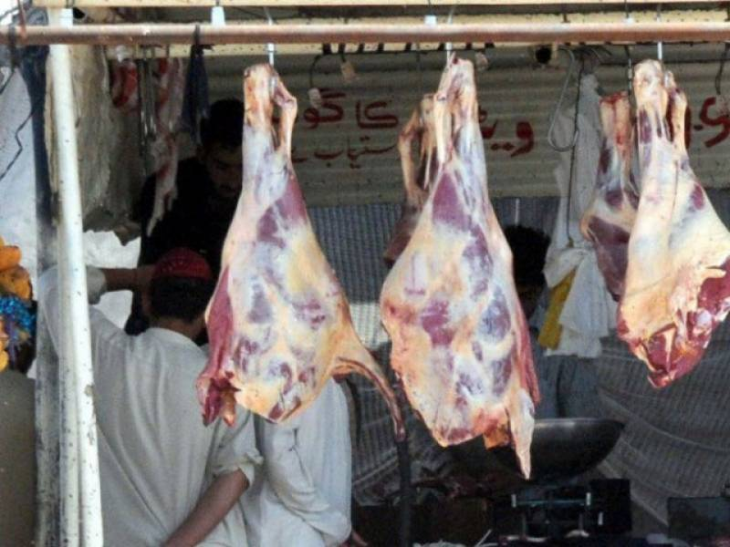 Over 1.5 ton unsafe meat seized in Sargodha