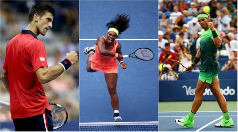 Serena, Djokovic, Nadal reach US Open third round