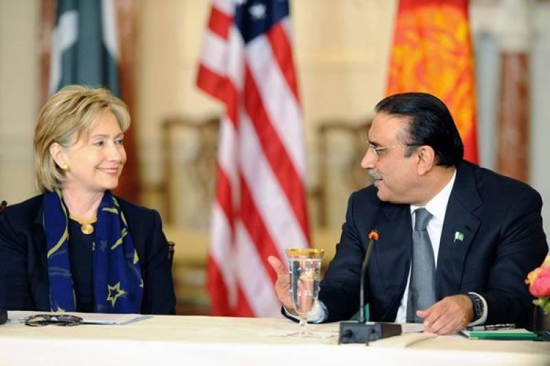 'On US advice, President Zardari visited flood-hit areas in 2010'