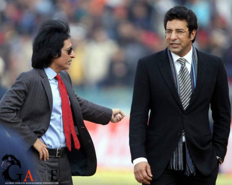 Rameez Raja, Wasim Akram to be named as PSL ambassadors