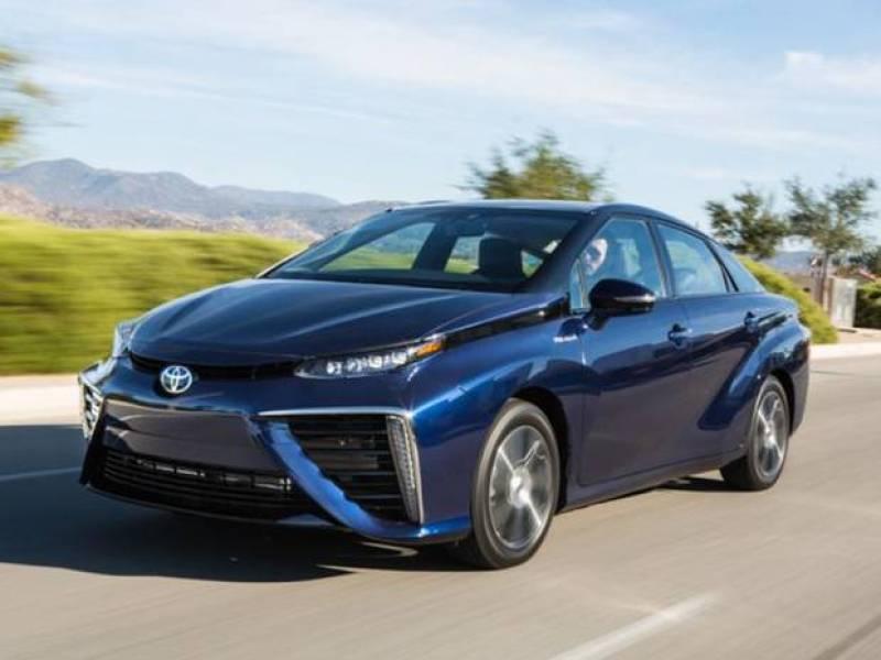 World's first mass-produced hydrogen-powered car Toyota Mirai introduced