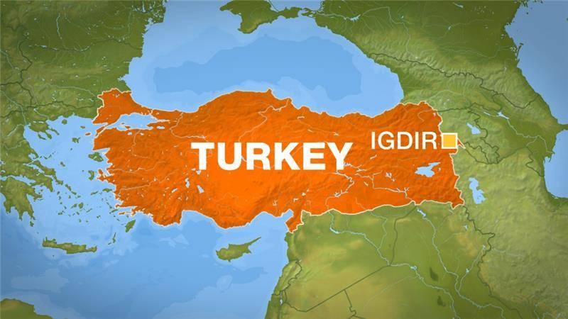 At least 10 Turkish policemen killed in bomb attack near Azerbaijan border
