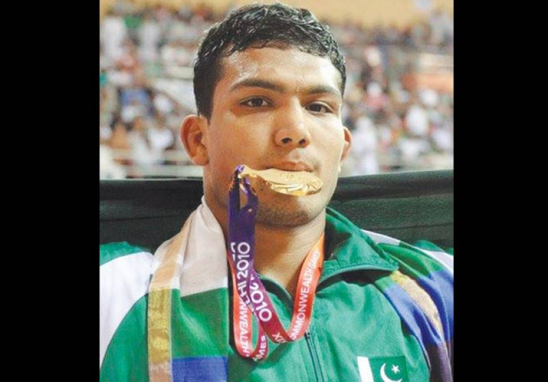 Pakistani wrestler flies to US for Olympic qualifying round