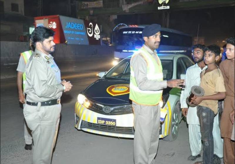 Motorway Police conduct safe driving campaign