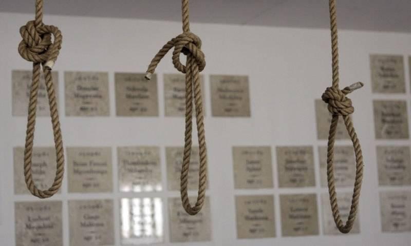 Three prisoners hanged in Bahawalpur, Vehari