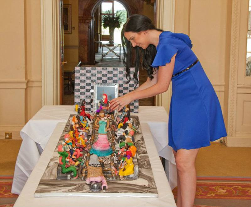 World's most expensive cake made for a wealthy Arab family costs almost £50 million