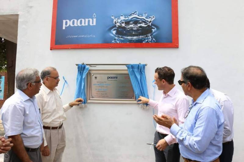 WWF-Pakistan and CCBPL inaugurate second water filtration plant in Lahore