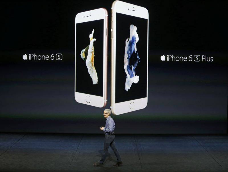 Apple unveils iPad Pro, new TV Box and iPhone 6s handsets