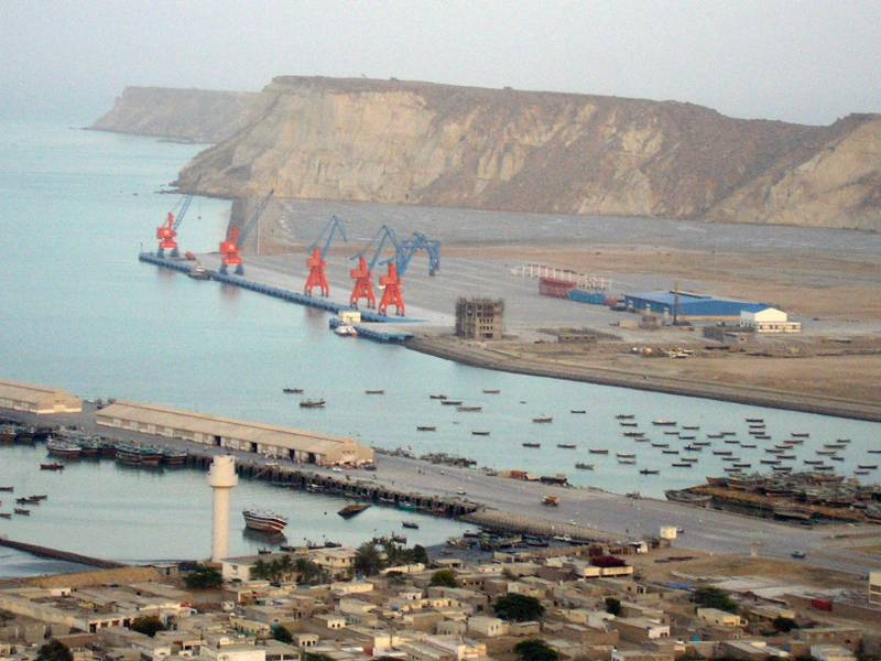 China gets 809 hectors on lease in Gwadar Port