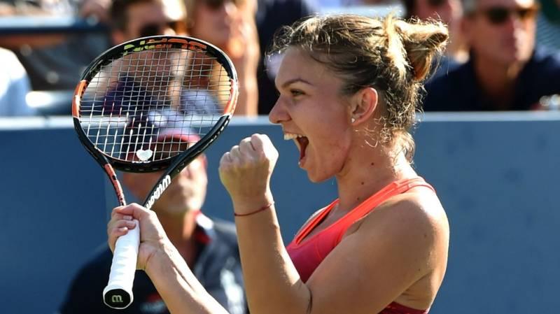 Halep downs Azarenka to reach US Open semis