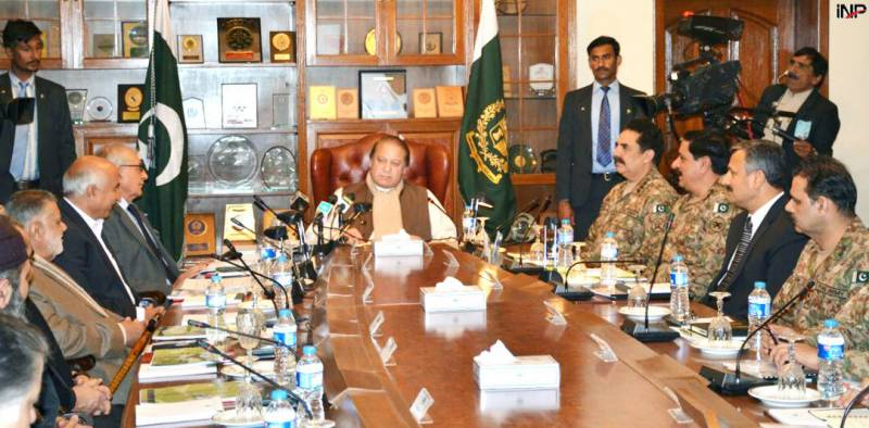 PM Nawaz not satisfied with NAP implementation