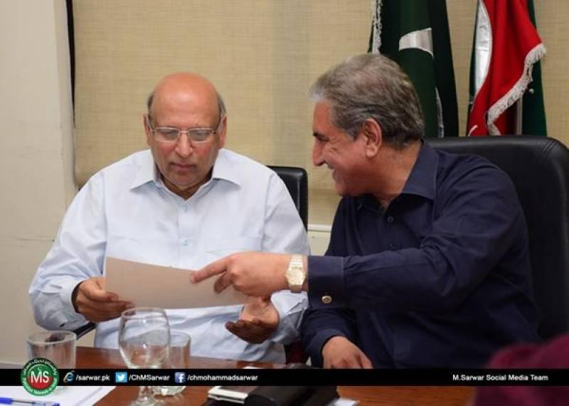 TTP issues threats to PTI's Ch Sarwar, Shah Mehmood Qureshi