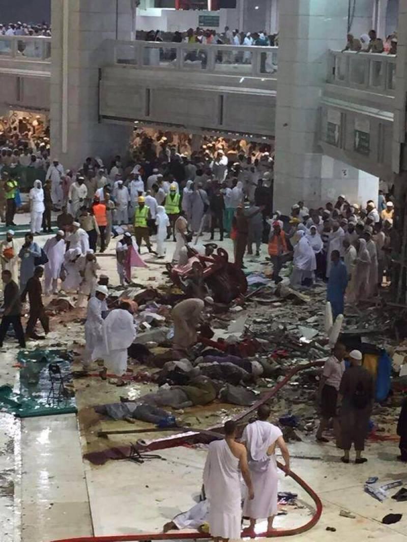 Makkah crane collapse claims 108 lives