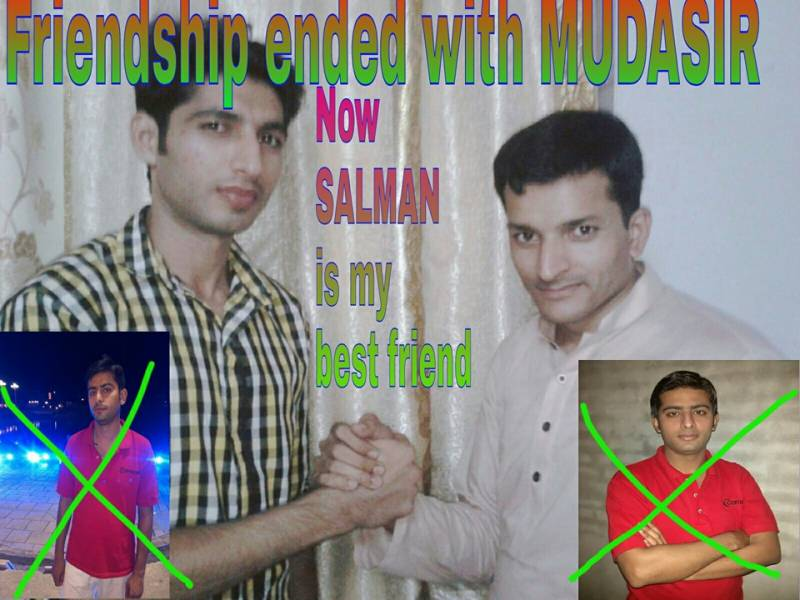 Facebook user, Asif, ends friendship with Mudasir, welcomes new 'best friend', Salman