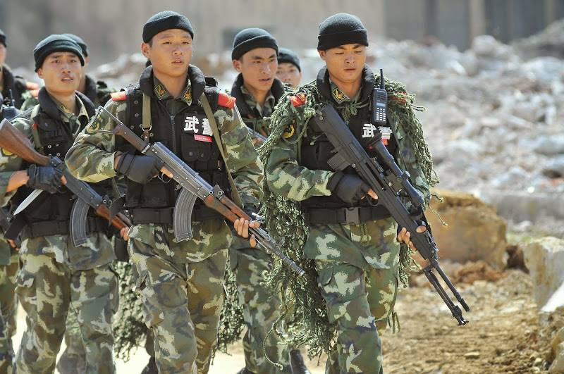 Chinese military could challenge United States of America