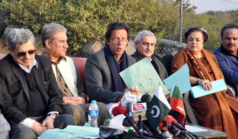 Imran announces electioneering in NA 122, 154 despite ECP ban