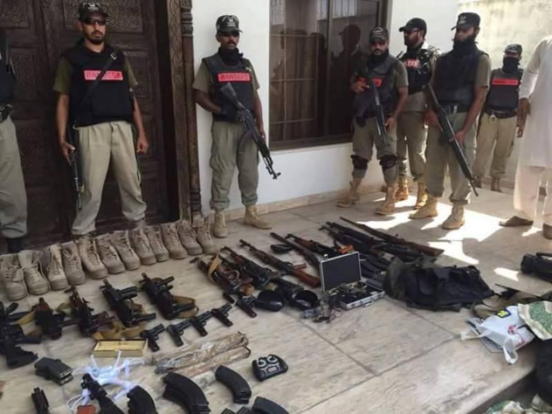 Taji Khokar's house raided, 20 suspects held, arms seized