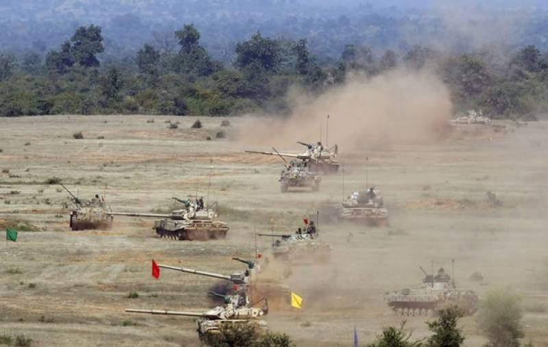 India to begin largest military exercise near Pakistan border in October