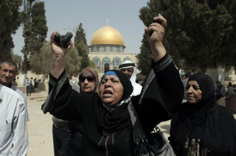 Clashes erupt in Palestine after Israeli troops storm Al-Aqsa Mosque compound