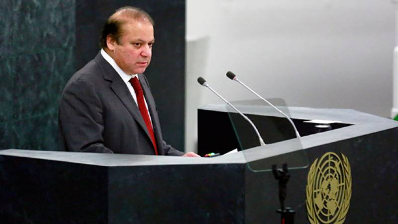 Has PM Nawaz committed contempt of court by addressing UN General Assembly in English?