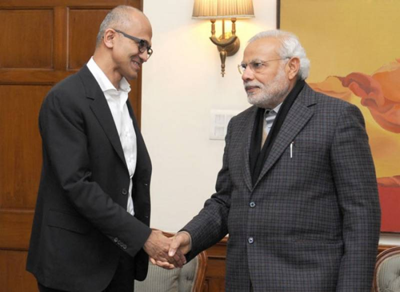 PM Modi humiliated by Microsoft CEO Nadella