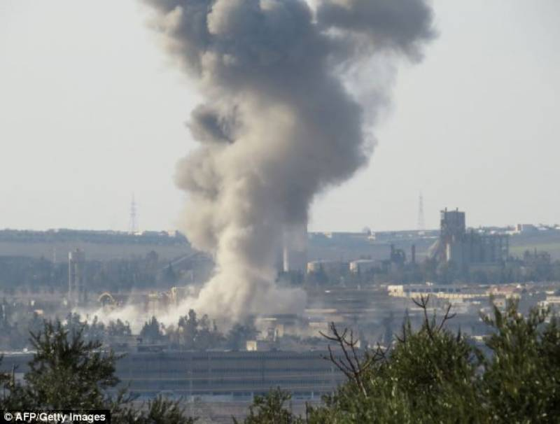 Russia targets 'anti-Asad' militants in first ever aerialstrike in Syria