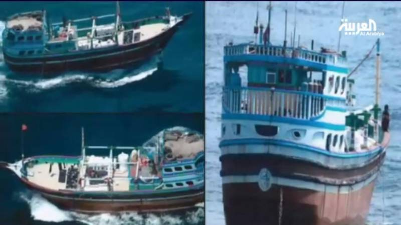 Saudi Arabia claims to have seized Iranian boat carrying weapons near Oman coast
