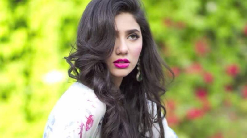 Video shows Mahira Khan sweeping floor on the set of her upcoming film 'Ho Mann Jahan'