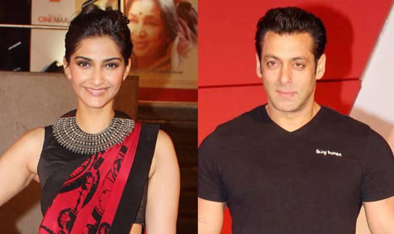 Sonam Kapoor, Salman Khan share first look of their upcoming 'Prem Ratan Dhan Payo'