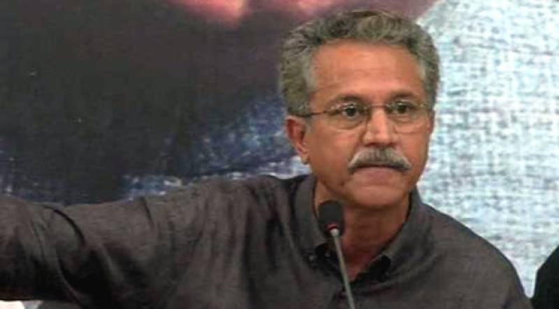 MQM's Wasim Akhtar booked under sedition, terror charges