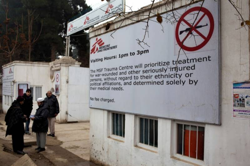 MSF condemns US airstrikes on Afghanistan hospital