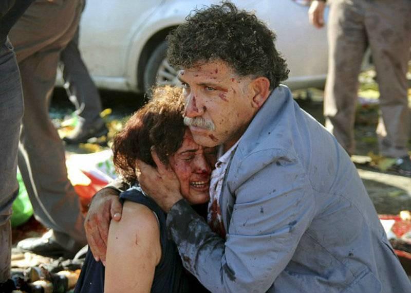 Over 97 dead, 400 injured in Ankara twin blasts