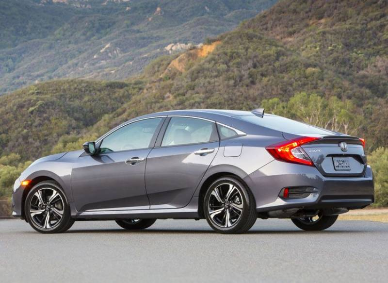 These photos of Honda Civic 2016 will leave you with open mouth