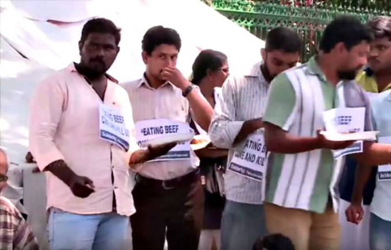 Hindus join Muslims in Kerala for beef party to protest Dadri lynching