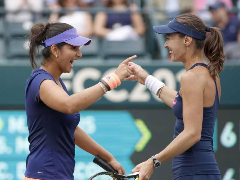 Sania Mirza, Martina win China Open