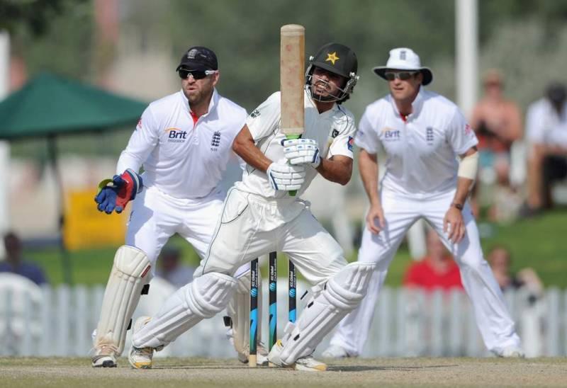 Pakistan bat first against England in Abu Dhabi test