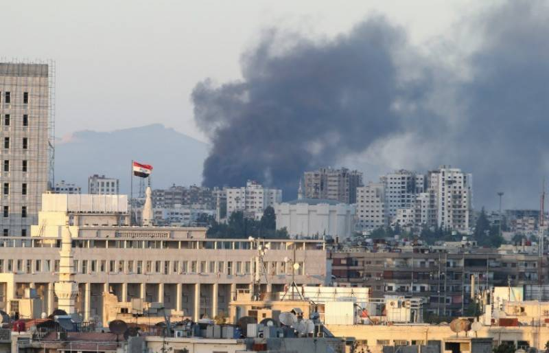 Rockets hit Russian embassy in Syria; causalities feared