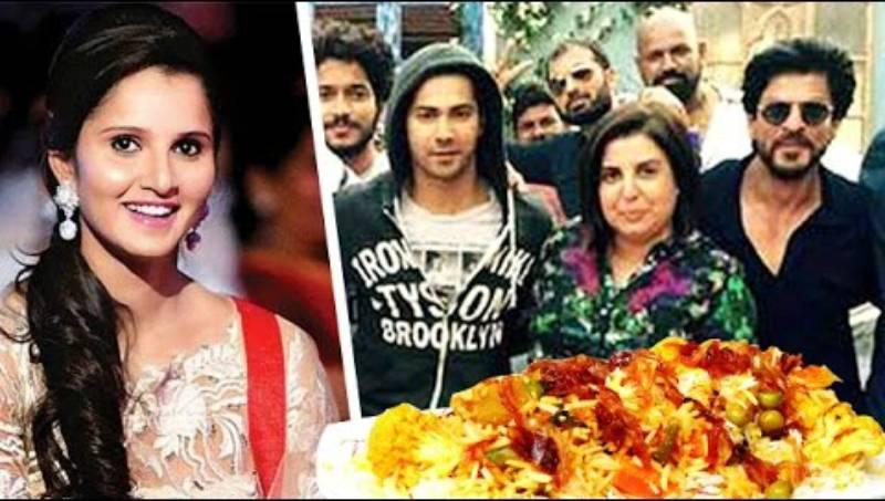 Sania Mirza throws biryani party for Shah Rukh, Kajol and Dilwale team