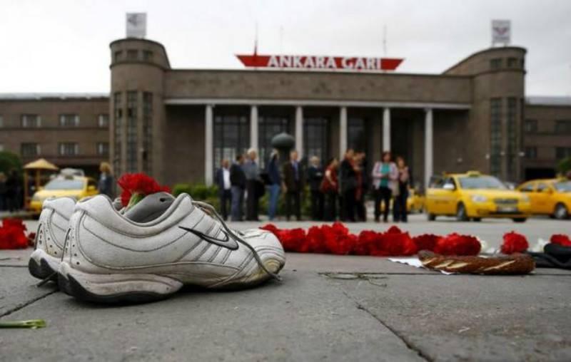 Turkey suspends top security chiefs after Ankara bombing