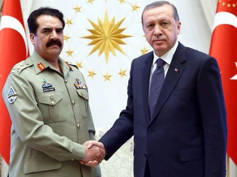 Turkey wants Pakistani support in fight against PKK, IS