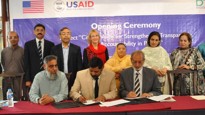 USAID project to help support good governance, transparency