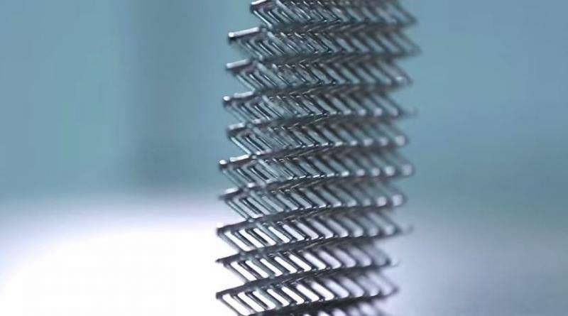Boeing develops lightest metal ever made