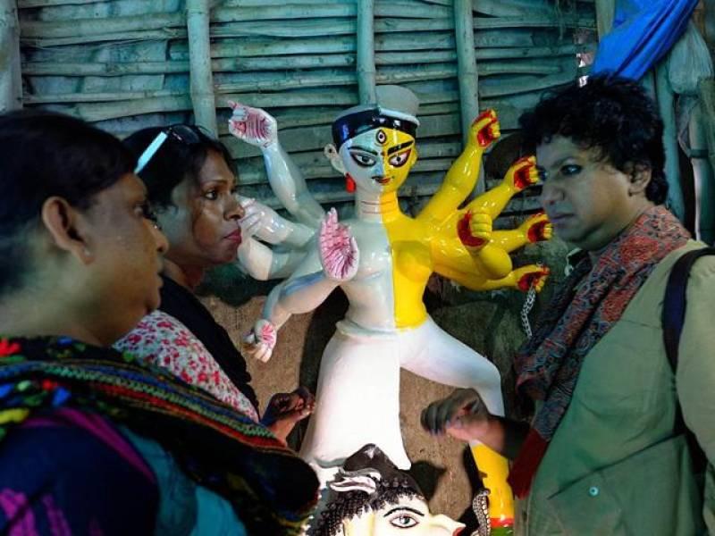 Kolkata will worship 1st transgender idol this year