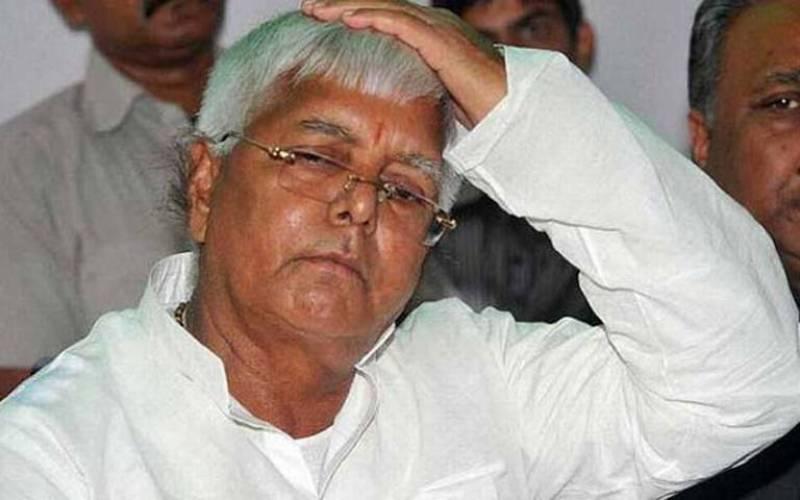 VIDEO: Ceiling fan falls on Laloo Prasad Yadav during Bihar election rally